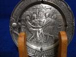 Подставка с оловянными тарелочками, бирдекелами SKS Германия, фото №3