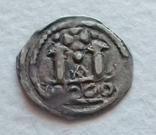 1170-1200 рік. Фрізахський пфеніг. Каринтія. Австрія