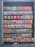 3-й Рейх Германия, Коллекция марок,полные серии