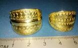 Два Пластинчатых перстня времён Киевской Руси 10-12 век Реплика), фото №2