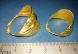 Два Пластинчатых перстня времён Киевской Руси 10-12 век Реплика), фото №7