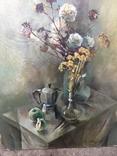 Квітковий натюрморт Поліщук.О.И.1989