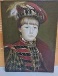 Портрет мальчика Холст, масло