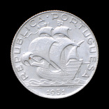 2,5 Эскудо 1951 Парусник, Португалия