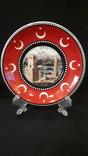Сувенирная тарелка Турция. Анталия., фото №2