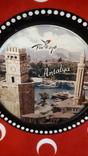 Сувенирная тарелка Турция. Анталия., фото №4
