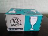 Рюмки Luminarc, 12 шт. в упаковке, новые