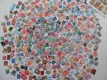 Приличный лот иностранных марок 470 шт.с блоком птицы. photo 1