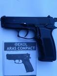 Стартовый пистолет Ekol Aras Compact 9mm. 15+1