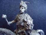Авторская эксклюзивная большая фигура Богдана Хмельницкого, масштаб 90мм, фото №4