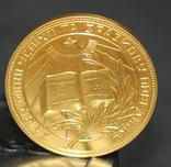 Школьная Золотая Медаль с Документами На Фан Марию Джаовну