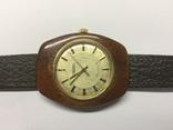 Часы наручные мужские Ракета в деревяном корпусе