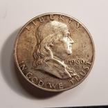 USA 1/2 dolara 1960 Franklin st.2