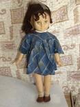 Кукла старая паричковая СССР,на резинках