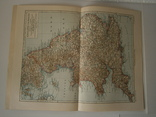 "Карта из Энциклопе́дии Брокга́уз "" England und Wales"