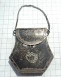 Серебренная Сумочка на цепочке