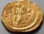 Солід Юстиніан I 527-565 рр. Константинополь photo 1