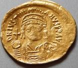 Солід Юстиніан I 527-565 рр. Константинополь photo 2