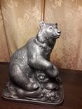 Скульптура Медведь А.Завалов 1959 г