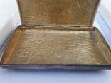Серебрянный портсигар 88° «Самородок» (219 гр) photo 8