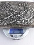 Серебрянный портсигар 88° «Самородок» (219 гр) photo 9