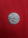 Эдуард 1(1272-1307) 1/2 пенни.