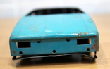 Машинка легковая из жести времен СССР.нюанс, фото №3