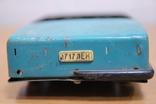 Машинка легковая из жести времен СССР.нюанс, фото №6