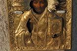Икона С.Николай Чудотворец 1840-41гг.Оклад серебро 84 пр.310*270 мм. photo 5