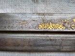 Большой старый кавказский кинжал photo 9