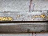 Большой старый кавказский кинжал photo 11