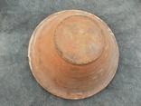 Велика глибока керамічна миска Ø34см Кути, фото №7