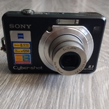 Фотоаппарат sony dsc-w100 + memory stick pro duo 2gb