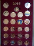 Юбилейные монеты Украины за 2015