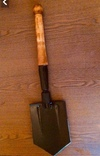 Складная саперная лопата