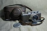 ФЭД Зоркий, 1948 год № 01595, объектив ЗК 1948 год №004452, Красногорский. photo 1