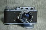 ФЭД Зоркий, 1948 год № 01595, объектив ЗК 1948 год №004452, Красногорский. photo 3
