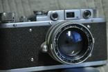 ФЭД Зоркий, 1948 год № 01595, объектив ЗК 1948 год №004452, Красногорский. photo 4