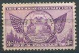 США 1935 Мичиганская государственная печать 3 с, фото №2