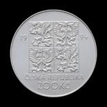 200 Крон 1994 Защита окружающей среды, Чехия photo 2