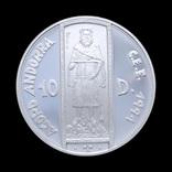 10 Динар 1994 Король, Андорра photo 1