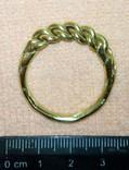 Реплика-Витой перстень времён Киевской Руси 10-12 век, фото №2