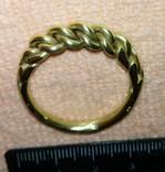 Реплика-Витой перстень времён Киевской Руси 10-12 век, фото №3