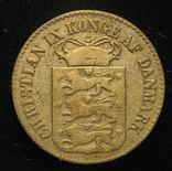 Датская Вест Индия 1 цент 1868 photo 2