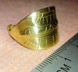 Реплика Пластинчатый перстень времён Киевской Руси 10-12 век, фото №3