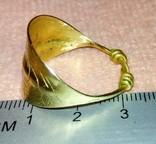 Реплика Пластинчатый перстень времён Киевской Руси 10-12 век, фото №5