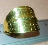 Реплика Пластинчатый перстень времён Киевской Руси 10-12 век, фото №7