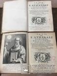 Г. Годефрой. Жизнь святого Афанасия патриарха Александрийского. 1671 г. В 2-х книгах. photo 10