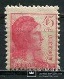 1938 Испания Символ республики 45с, фото №2