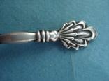 Ложка серебро 875 проба, звезда (ЗиД)., фото №5